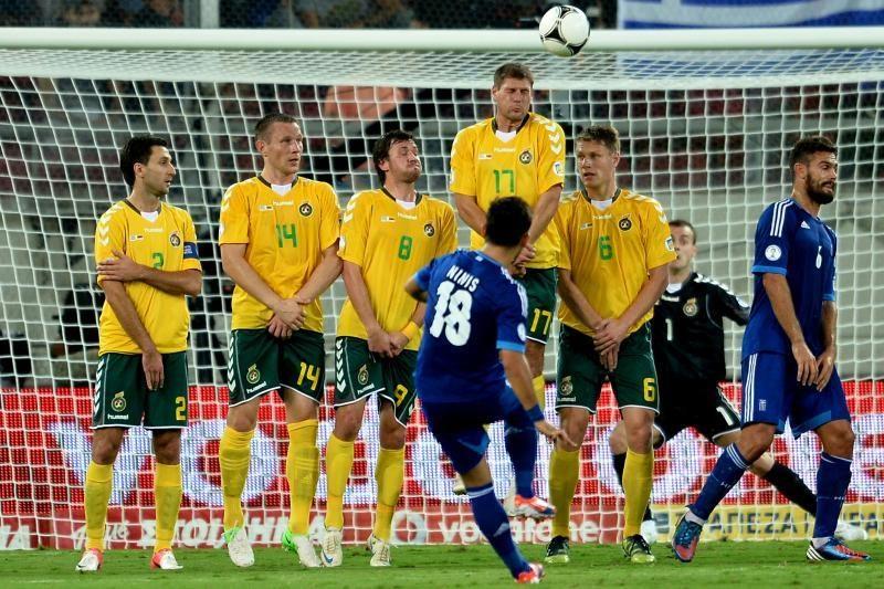 Atsispyrė nuo dugno: Lietuvos futbolo rinktinė pasaulyje - 116-likta