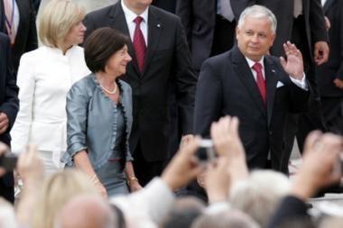 Lenkijos prezidentas L.Kaczynskis : Vilnius yra jūsų sostinė