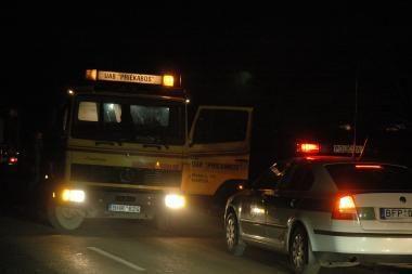Klaipėdos rajone susidūrė penkios mašinos
