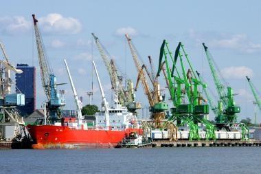 Klaipėdos uoste - rekordinė krova