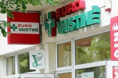 Vilniuje apvogta vaistinė