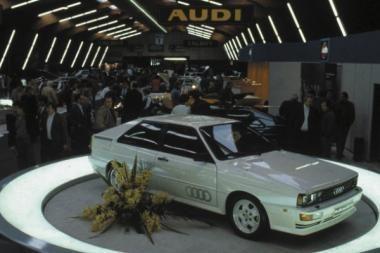 """""""Audi quattro"""" pavarai –  30 metų"""