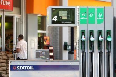 Degalų kainos - naujose aukštumose