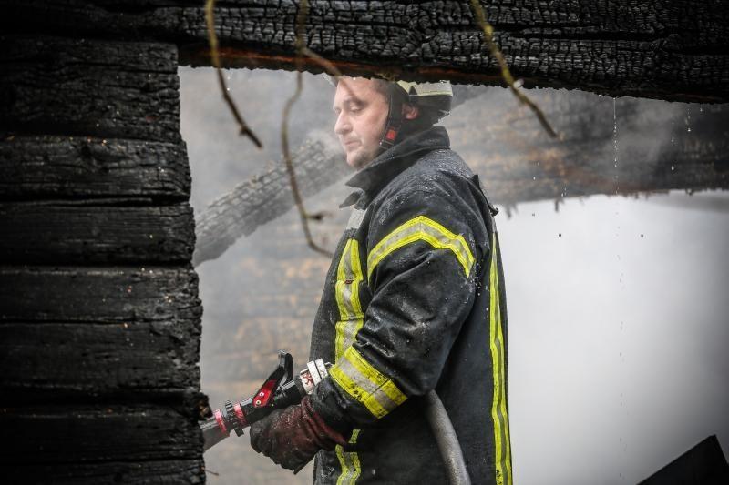 Klaipėdos rajone per gaisrą ūkiniame pastate žuvo vyras