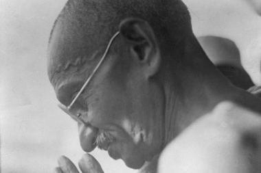 Keistas Indijos lyderio M.Ghandi seksualinis gyvenimas