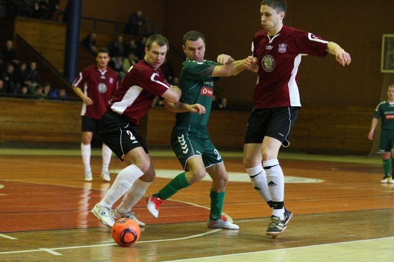 Naują salės futbolo sezoną paįvairins naujokai ir prizinis fondas