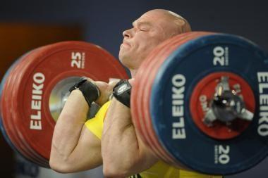 R.Vyšniauskas praleis Europos sunkiosios atletikos čempionatą