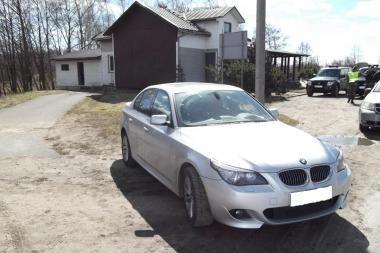 Klaipėdietis į Lietuvą varė Vokietijoje vogtą BMW