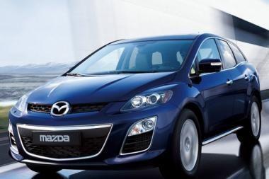 """Atnaujintas rafinuotas """"Mazda CX-7"""" – jau Lietuvoje"""