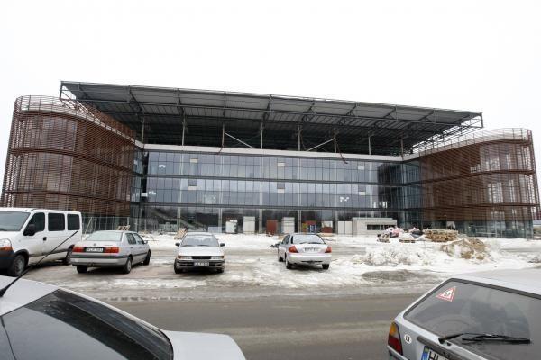 """""""Švyturio arena"""" Klaipėdoje nebus užbaigta laiku"""