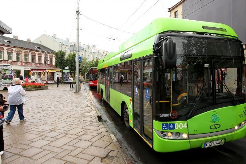 Ilgąjį savaitgalį Kaune kursuos daugiau autobusų