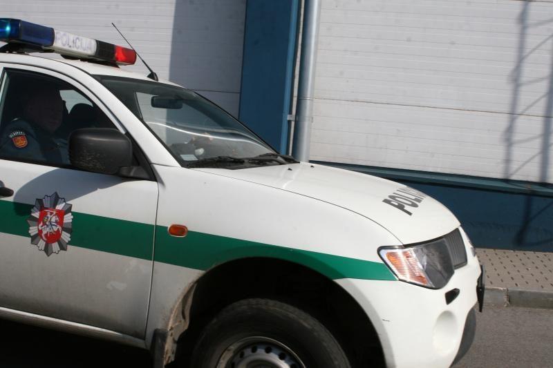 Vilniaus r. kaukėti asmenys metaliniais strypais daužė automobilius