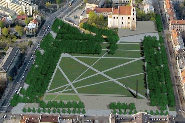 Laisvės kovų dalyviai nesupranta Lukiškių aikštės projektų