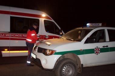 Iš uostamiesčio areštinės – į ligoninę