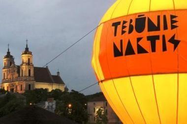 """""""Tebūnie naktis!"""" maratonas: 50 kultūros taškų Vilniaus senamiestyje"""