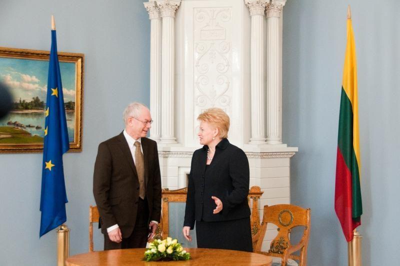 Lietuvoje lankysis Europos Vadovų Tarybos pirmininkas