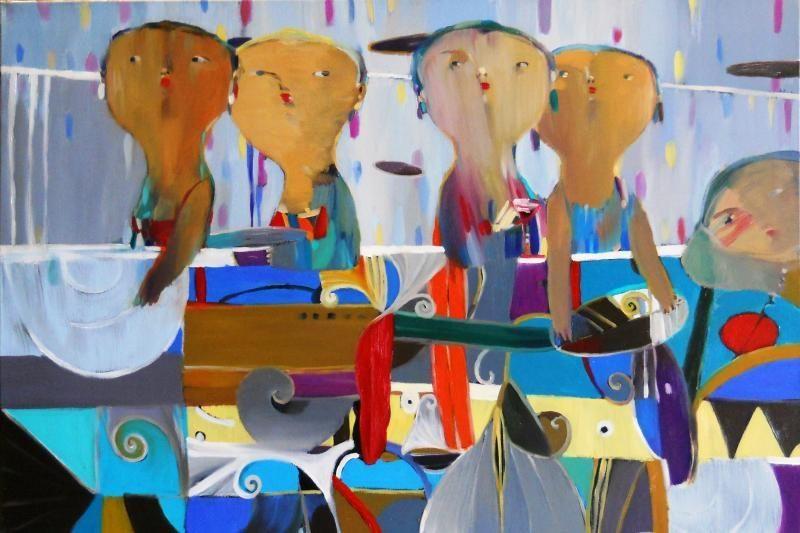 Rūtų galerijoje Klaipėdoje – kauniečio Šarūno Šarkausko tapyba