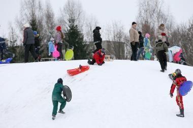 Orai Kaune: snigs, pūs žvarbus vėjas ir bus labai šalta