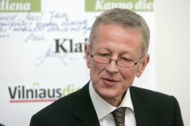 G.Kazlauskas nesėkmės atveju prie renovavimo lėšų kaupimo klausimo nebegrįš