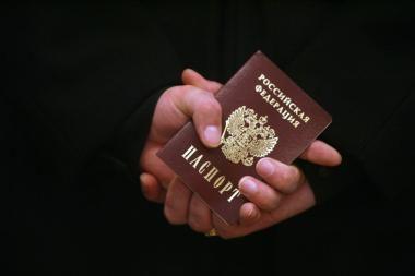 Vyras suvalgė buvusios žmonos pasą