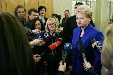 D.Grybauskaitė: Lietuvai reikia išeivijos patirties