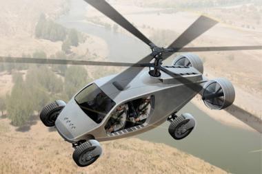 DARPA planuose - skraidantis automobilis