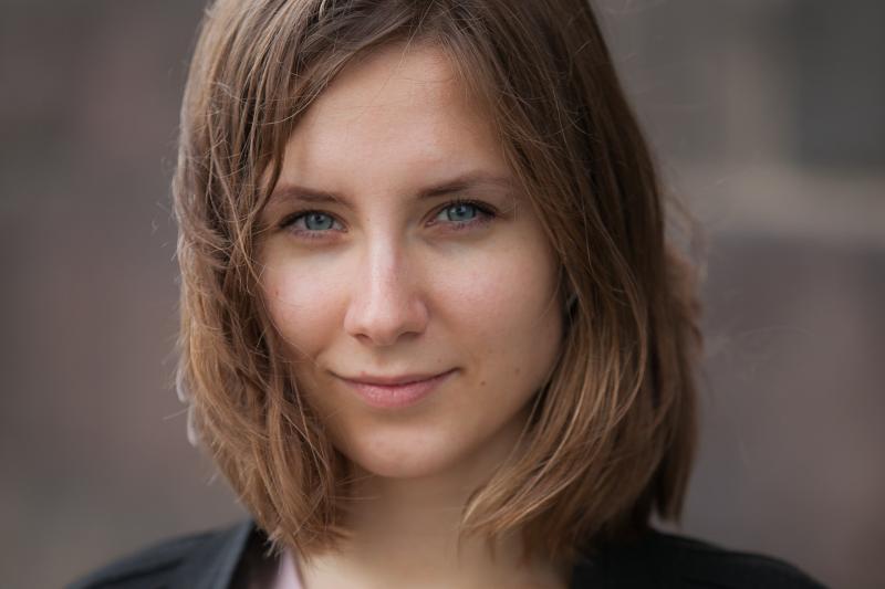Aktorės Neringos Varnelytės antrininkė filme – studentė