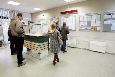 Nedarbas Lietuvoje išaugo iki 13,3 proc.