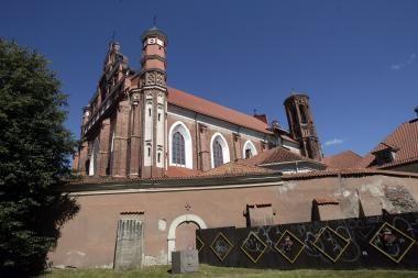 Pranciškonų vienuolyną kol kas numatoma perduoti ne vienuolams, o Turto fondui