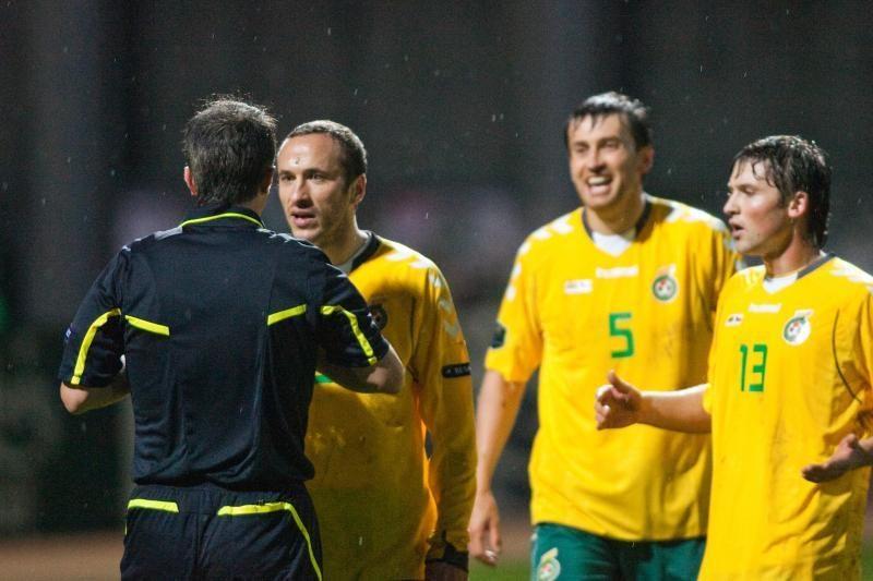 Slovakijos futbolininkai pasidalijo mintimis apie lietuvių futbolą