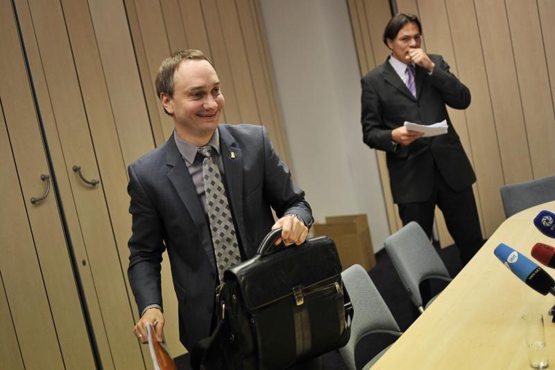 Į teisėsaugos akiratį patekusiam M. Balčiūnui - LSU palaikymas