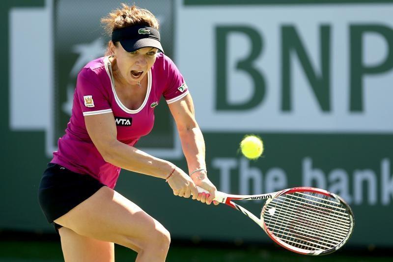 """Moterų varžybomis JAV prasidėjo """"BNP Paribas Open"""" teniso turnyras"""