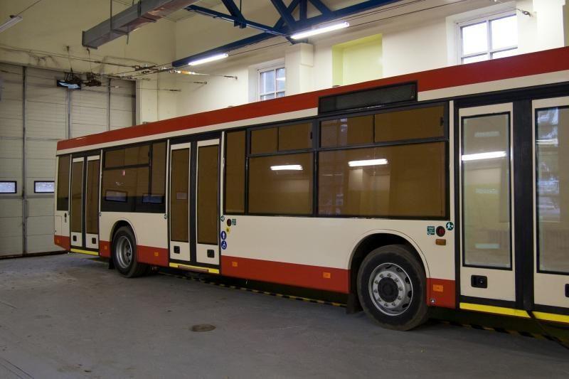 Vilniuje surenkami pirmieji lietuviški troleibusai