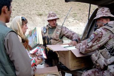 Afganistano mokykloms – lietuvių pagalba