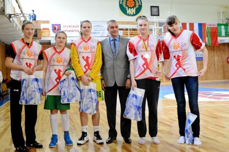 Lietuvės Rytų Europos 15-mečių čempionate - trečios