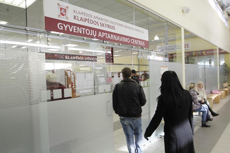 Klaipėdos apskrities VMI artėjant deklaravimo pabaigai dirbs ilgiau