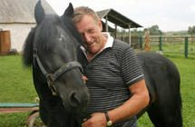 Į istorinį žygį Panevėžio rajonas delegavo arklį