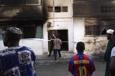 Riaušes Ispanijoje išprovokavo nužudymas