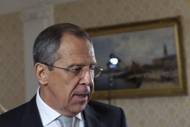 S.Lavrovo pasiūlymas: Lietuvos, Rusijos ir Lenkijos ministrų susitikimas Kaliningrade