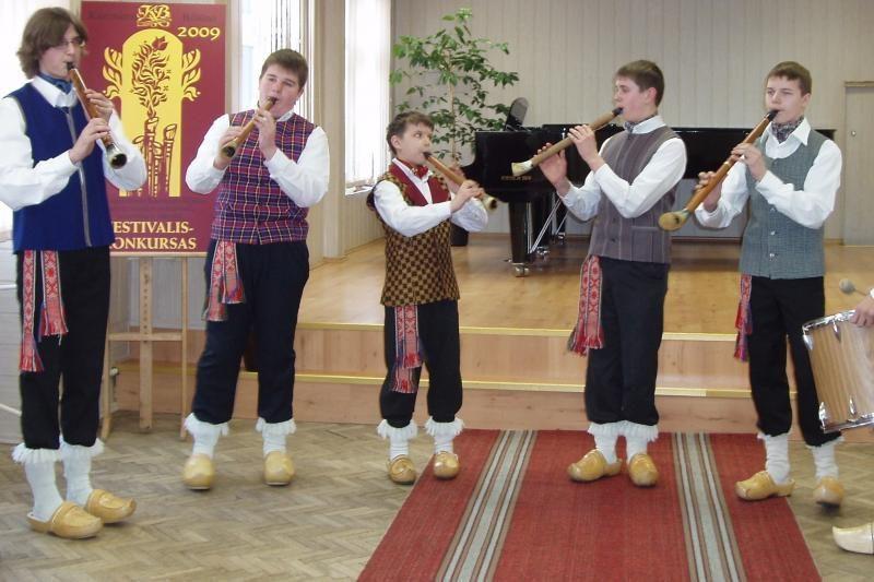 Į Klaipėdą suvažiuos tautinių instrumentų ansambliai ir orkestrai
