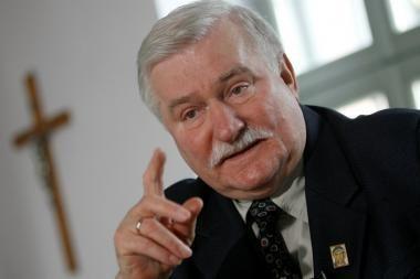 Buvęs Lenkijos vadovas L.Walesa mokyklos vadovėlyje vadinamas komunistinio saugumo agentu