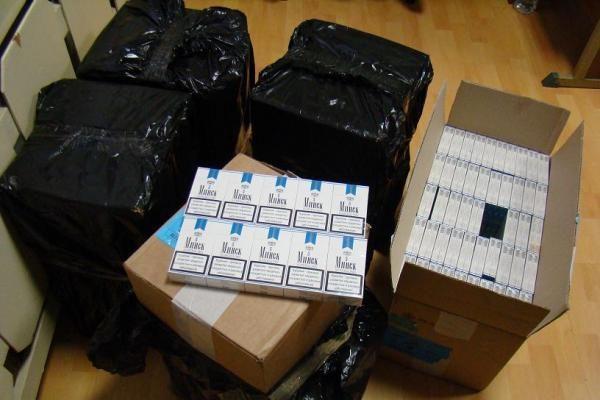 Prie Klaipėdos sulaikytas kontrabandinių rūkalų krovinys