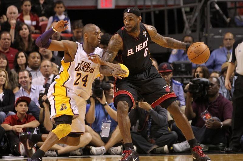 NBA savaitės geriausi - L.Jamesas ir K.Bryantas