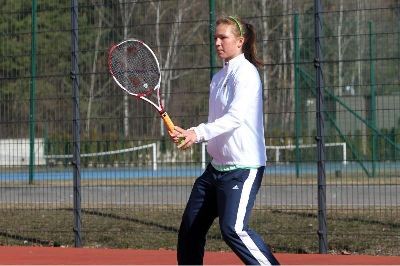 Lietuvos tenisininkė pateko į aštuntfinalį