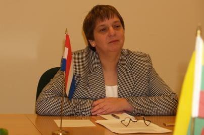 Lankėsi Nyderlandų ambasadorė