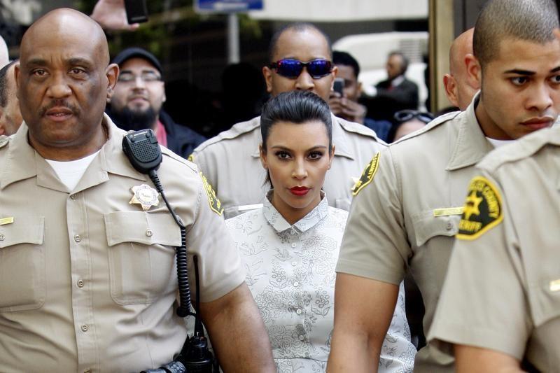 JAV garsenybė K. Kardashian susitarė dėl skyrybų su K. Humphriesu