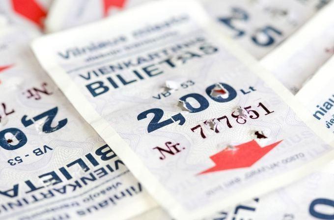 Popieriniai transporto bilietai Vilniuje iš kioskų dings sekmadienį
