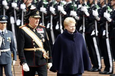 Norvegijoje prezidentė kalbėjo ir apie energetiką