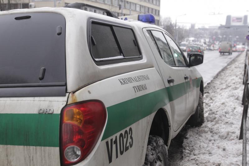 Sostinėje policininkams tramdant agresyvų vyrą šis mirė