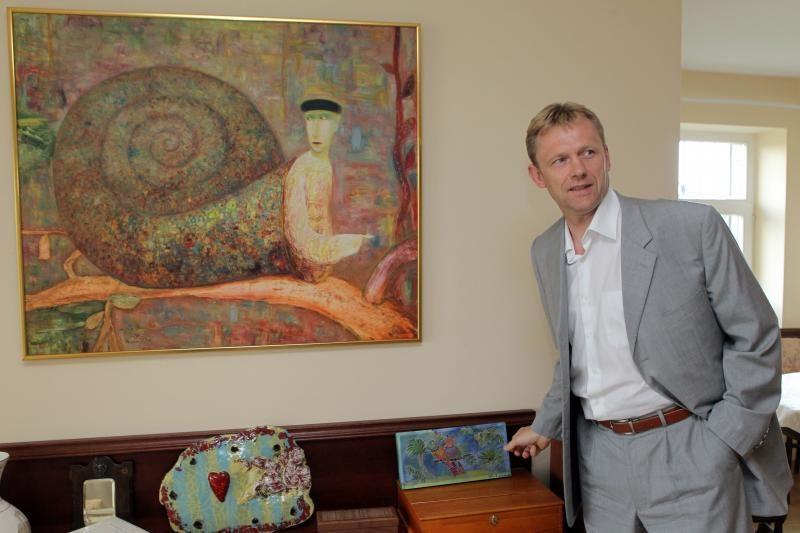 Vaikų, gimusių dieną, kai Lietuva įstojo į ES, šventę rengė ministras
